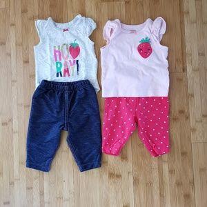 🍓BUNDLE BABY GIRL STRAWBERRIES